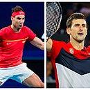 Rafael Nadal e Djokovic começaram bem o ano