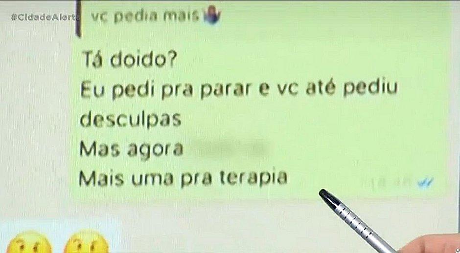 Parte da conversa entre Neymar e Najila que não foi mostrada pelo jogador