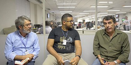 Roberto Gazzi, Donaldson Gomes e Emmerson José analisam a eleição