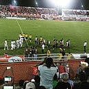 Atlético foi eliminado em casa, no Carneirão