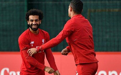 Salah é um dos astros do Liverpool na Liga dos Campeões