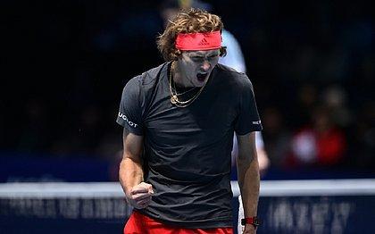Zverev é o sétimo no ranking de melhores tenistas do mundo