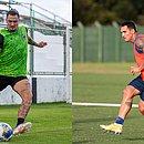 Vinícius e Gilberto estarão frente a frente em duelo entre Bahia e Ceará, pela final da Copa do Nordeste