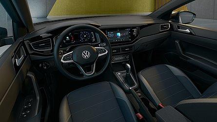 O volante é o mesmo do elétrico ID.3 e da nova geração do Golf