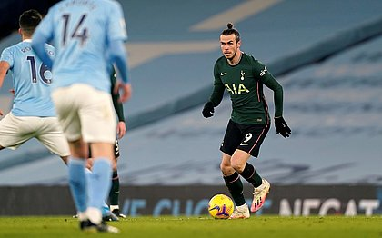 Gareth Bale está cedido por empréstimo ao Tottenham até ao fim da temporada