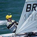 Robert Scheidt se garantiu em sua 7ª Olimpíada
