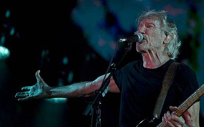 'Vamos continuar com a resistência', diz Roger Waters em show na Fonte Nova