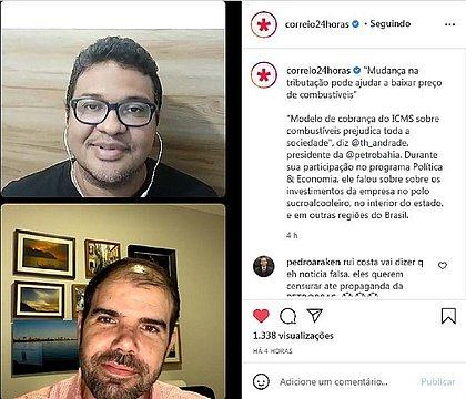 O jornalista Donaldson Gomes recebeu o empresário Thiago Andrade, presidente da Rede Petrobahia no programa Política & Economia