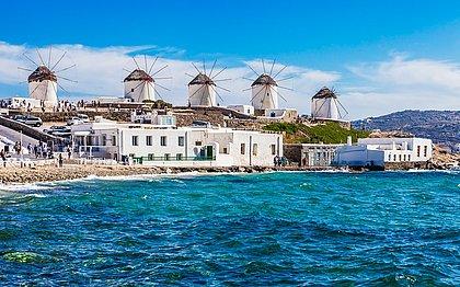 Pérola grega: Mykonos é ilha grega para badalar, mas também tem relax