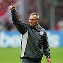 Cláudio Prates disse que ficou satisfeito com empenho do Bahia em confronto com o Internacional