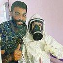 Ngapeth deixou hospital após 15 dias de quarentena