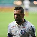 Gilberto marcou o primeiro gol do Bahia na vitória sobre o Nacional-PAR