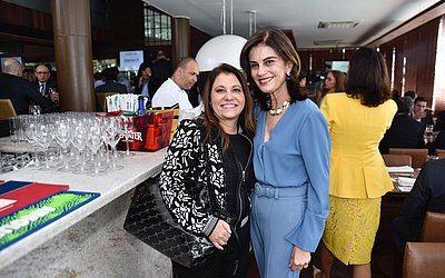 Rosani Romano e Cristina Calumby