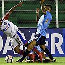 Bahia não conseguiu reagir no segundo tempo e estreou perdendo para o Blooming