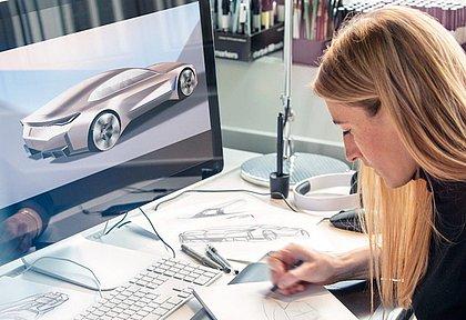 A alemã Anne Forschner, responsável pela forma de alguns modelos atuais da BMW, como os novos esportivos M3 e M4