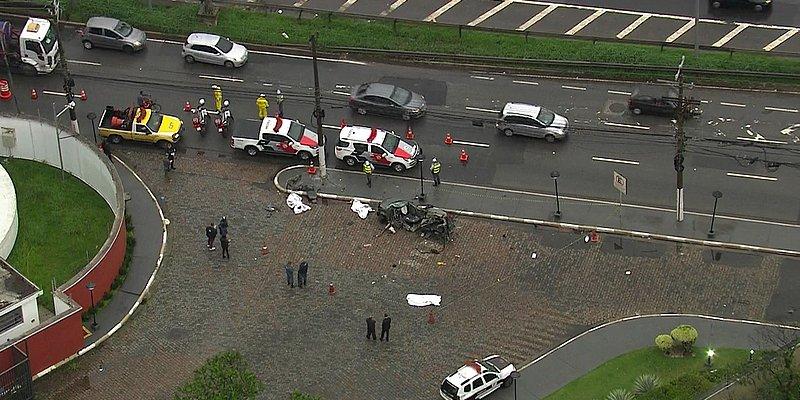Três pessoas morrem em acidente de carro em São Paulo
