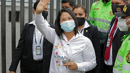 Promotor da Lava Jato peruana pede prisão preventiva de Keiko Fujimori