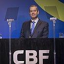 Caboclo está afastado da presidência da CBF