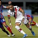Rodriguinho não fez bom jogo durante derrota do Bahia para o Atlético-GO