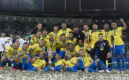 Em 2019, seleção brasileira foi campeã da Copa América