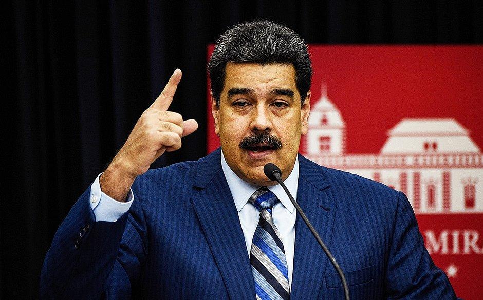 Maduro: 'Bolsonaro está arrastando o Brasil para uma guerra contra a Venezuela'