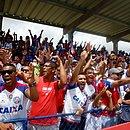 Torcida Tricolor fez a festa na inauguração oficial da Cidade Tricolor