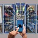 Casas inteligentes são controlas à distância por celular ou computador