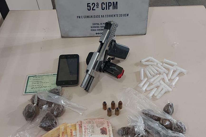 Suspeito de tráfico de drogas é morto pela PM em Lauro de Freitas
