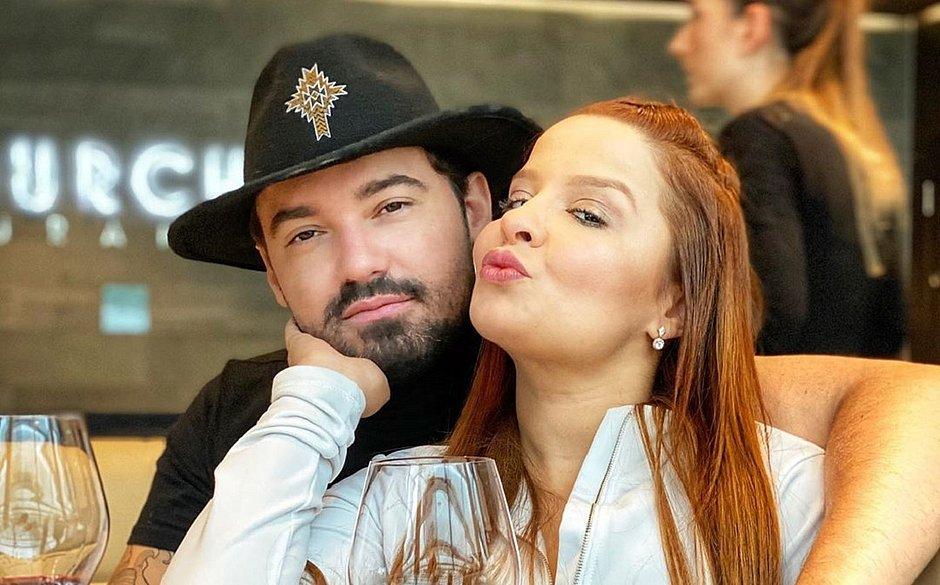 Fernando e Maiara namoram há sete meses