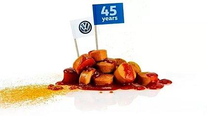 Em 2018, a Volkswagen comemorou os 45 anos de produção interrupta de salsicha na sede da empresa, em Wofsburg, na Alemanha