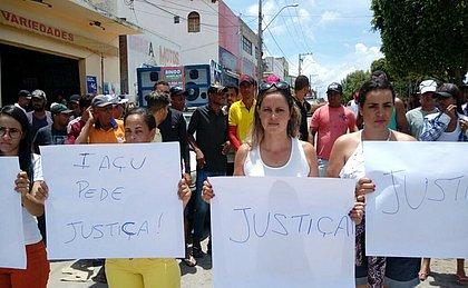 Familiares pedem justiça após morte de pai e filho na zona rural de Iaçu