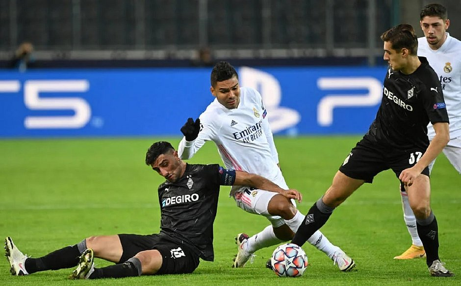 Casemiro marcou o gol do empate do Real Madrid com o