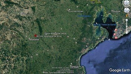 Tremor de terra atinge cidades do interior da Bahia