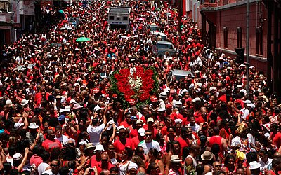Festa de Santa Bárbara, que acontece no dia 4 de dezembro