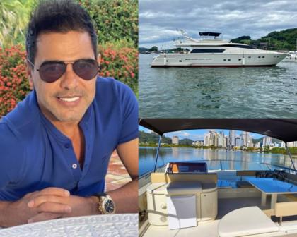 Zezé Di Camargo compra cota de iate de luxo avaliada em R$ 2,5 milhões