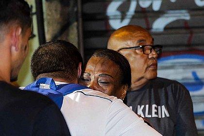 Dona Lúcia, proprietária do bar, foi libertada mais cedo, junto com outros três reféns