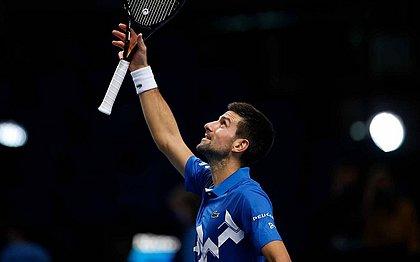 Djokovic venceu Diego Schwartzman em 1h17min
