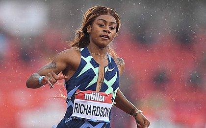 Sha'carri Richardson ficou fora dos Jogos de Tóquio após testar positivo para maconha
