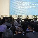 Público lotou auditório da Fieb para assistir as palestras do evento