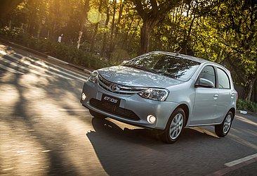 A Toyota produz o Etios no Brasil apenas para exportação
