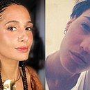 Camila Pitanga e Beatriz Coelho estão namorando há um ano