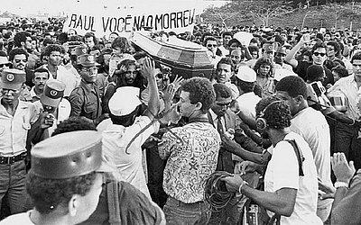 Raul Seixas se foi no dia 21 de agosto de 1989