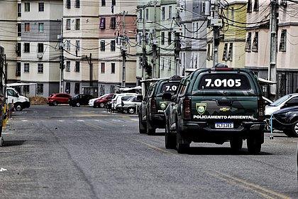 Ônibus seguem sem circular em parte do Jardim das Margaridas após PM matar três