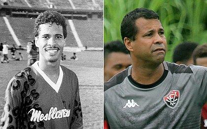Rodrigo chegou à base do Vitória em 1992, aos 19 anos; agora, aos 48; será técnico