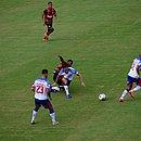Tricolor não jogou bem e foi derrotado pelo Vitória no Barradão