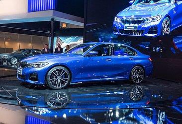 A cor de lançamento da nova geração do BMW Série 3 também foi azul