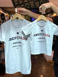 Camisa Adulto e Infantil - R$ 49,90 - Cha Cha Dum Dum - Shopping da Bahia