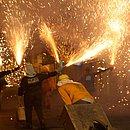 Batalhas acontecem nas ruas de diversos municípios do interior