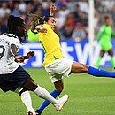 Marta foi uma das melhores jogadoras do Brasil na partida