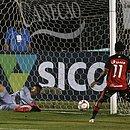 Diante da Ponte Preta, Mateusinho marca o primeiro gol dele com a camisa do Vitória